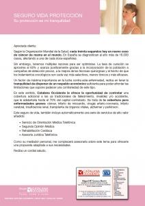 Detalles Vida Protección Cancer mama